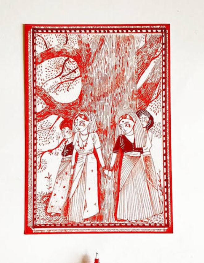 Bhuli Art: Determined To Bring Folk Art Back To Former Glory