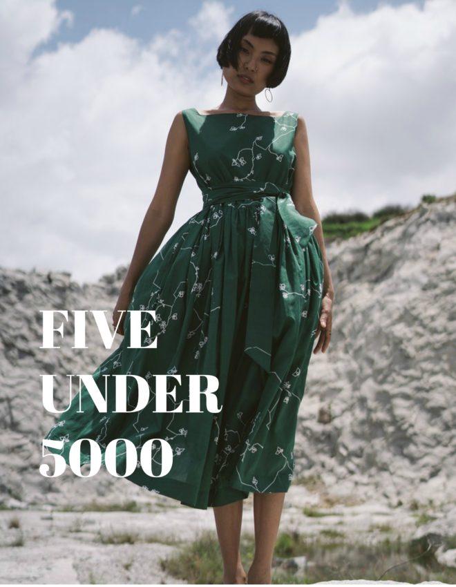 #FiveUnder5000: Playing Dress Up