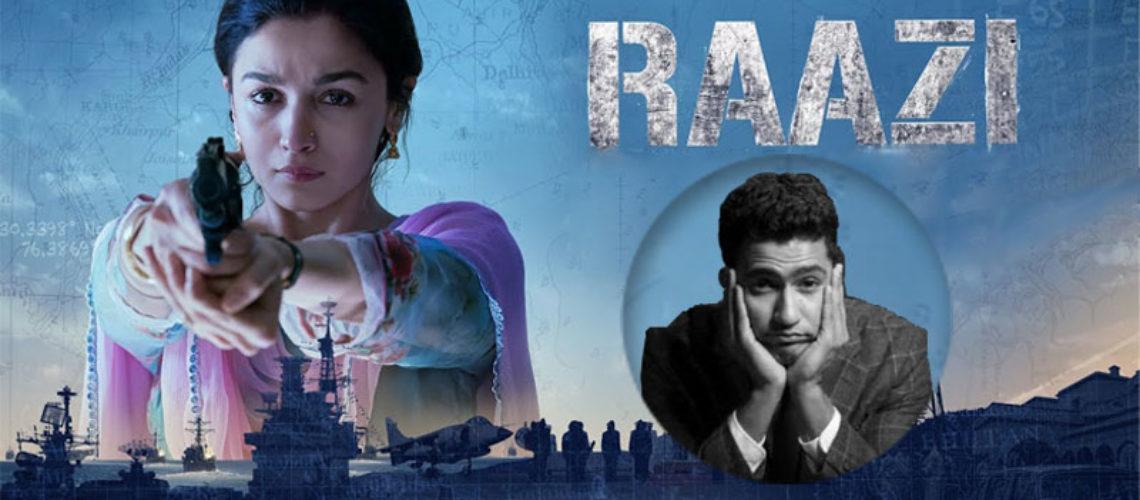 #FilmReview: Raazi, a sensibly made, sensitive meditation on love, loyalty and war.