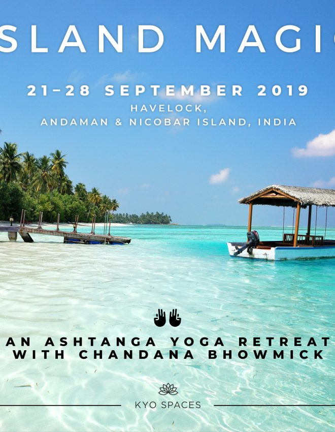 Island Magic: revitalise and rejuvenate mind and body with KYO Spaces and Chandana Bhowmick yoga retreat